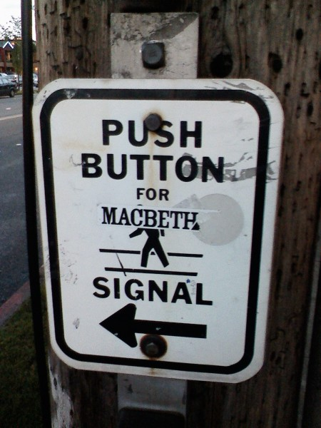 Push Button for Macbeth