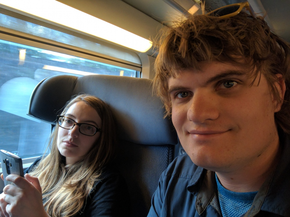 TGV to Bayonne.