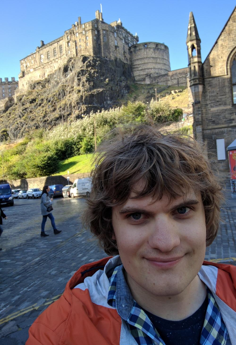 Serious Castle Selfie