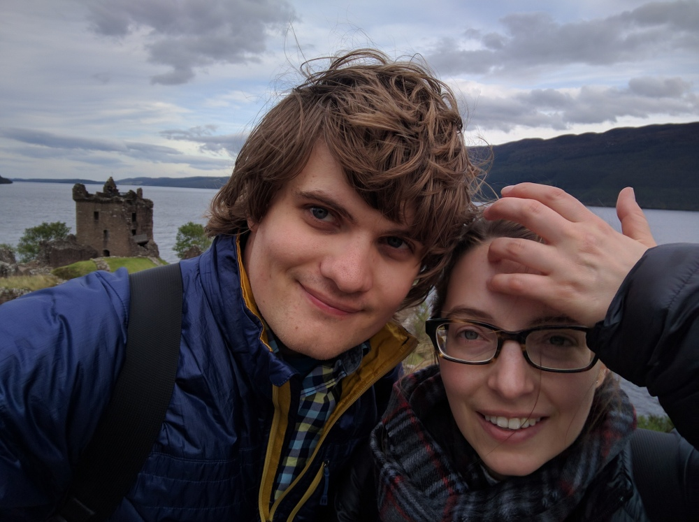 Urquhart Castle selfie