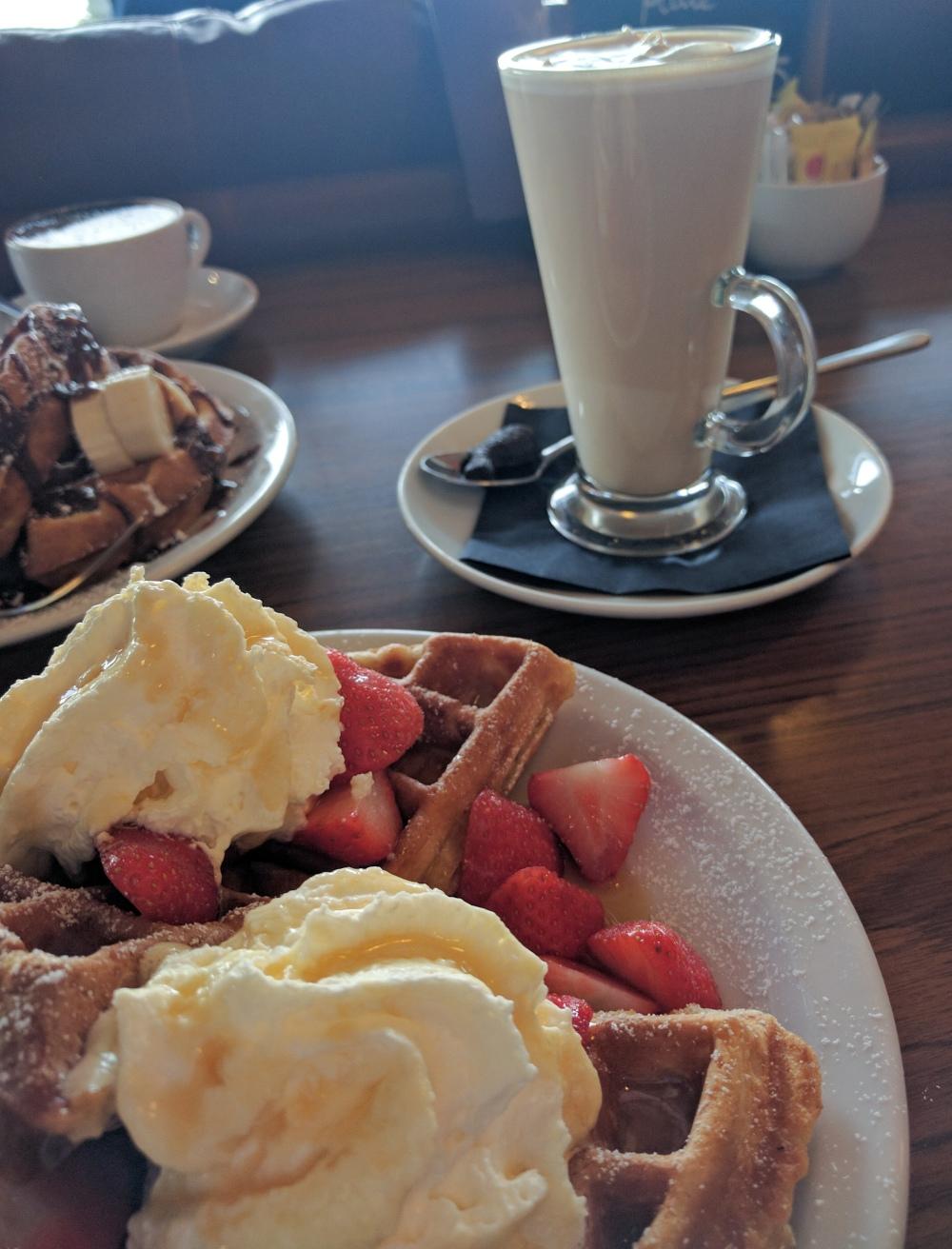 Oban waffles